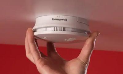 Đầu báo cháy không dây dùng pin Honeywell