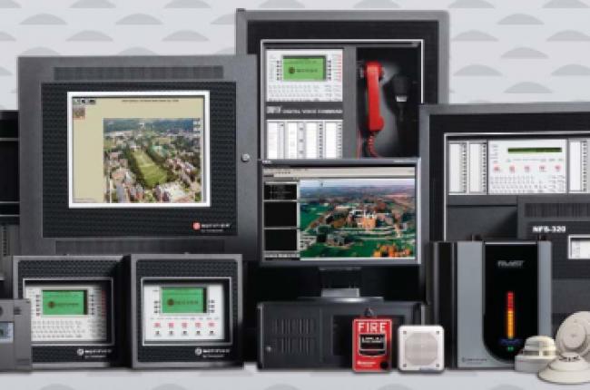 Hệ thống báo cháy tự động của Honeywell