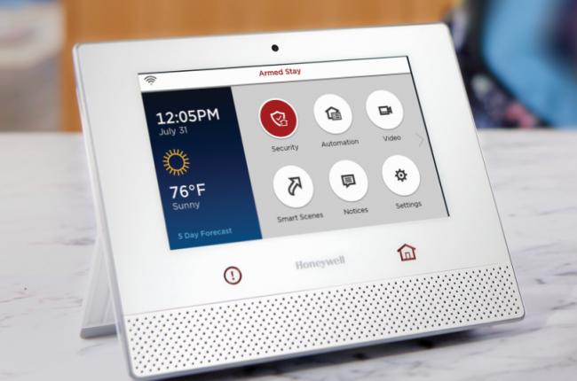 Hệ thống chuông hình và căn hộ thông minh của Honeywell