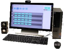 Bàn gọi đặt tại phòng bảo vệ giao tiếp Video Door Phone (Guard Phone) HI-PC8000