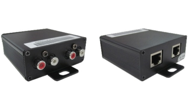 Bộ chuyển đổi audio RJ45 sang RCA HN-RTR