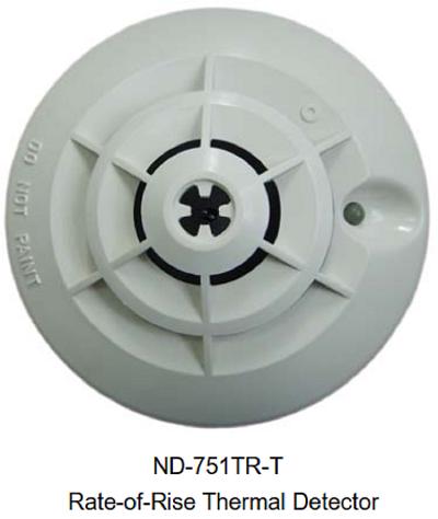 Đầu báo nhiệt gia tăng địa chỉ ND-751TR-T