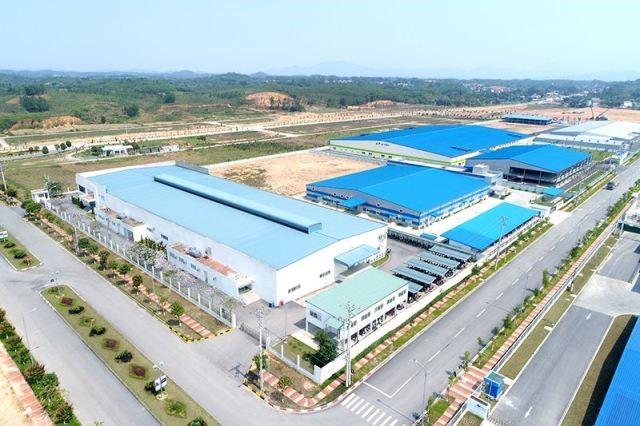 Công trình Matsuoka khu CN Phú Hà thị xã Phú Thọ