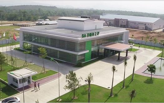 Nhà máy TAL đặt tại Khu Công nghiệp Bá Thiện 2, Bình Xuyên, Vĩnh Phúc;