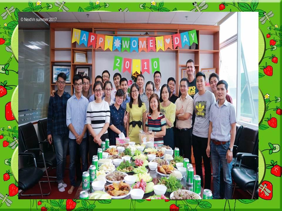 NEXTVN chào mừng ngày phụ nữ Việt Nam 20/10/2017